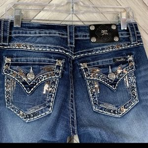 Miss Me Jeans Size 30/30 Signature Boot